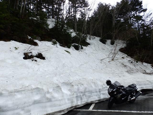 雪景色のツーリング