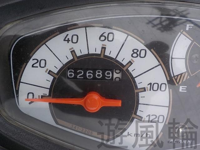 燃料計とスピードメーター