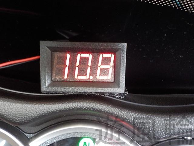 電圧 計 バイク