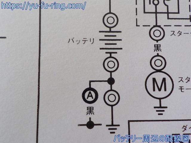 バッテリー周辺の配線図